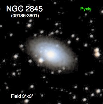 NGC 1395 Galaxy in  Fornax